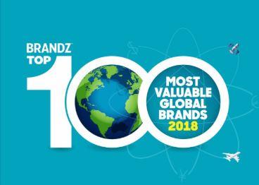 100 برند ارزشمند دنیا در سال 2018