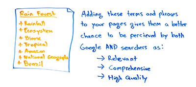 پیدا کردن کلمه کلیدی مرتبط به وب سایت
