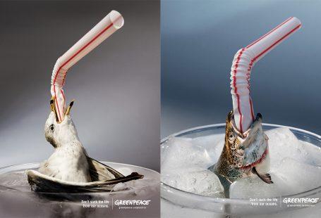 کمپین تبلیغاتی GREENPEACE