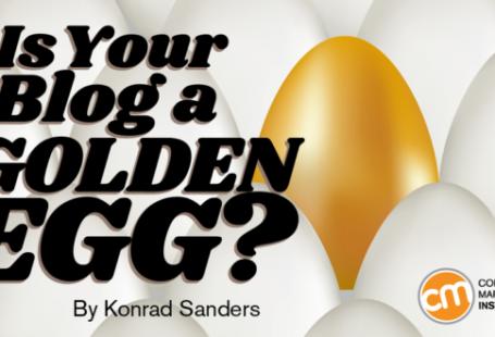 آیا بلاگ شما یک تخم طلایی است؟