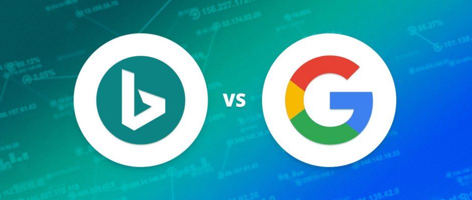 تفاوت های سئو بینگ و گوگل